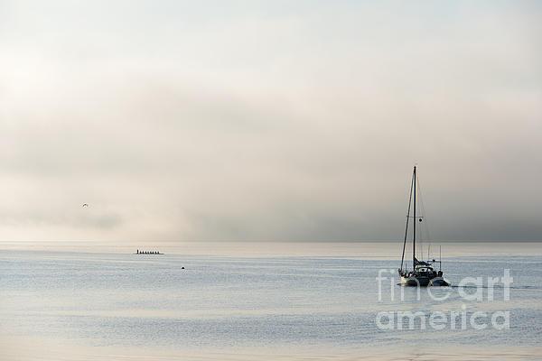Morning Mist Print by Mike  Dawson