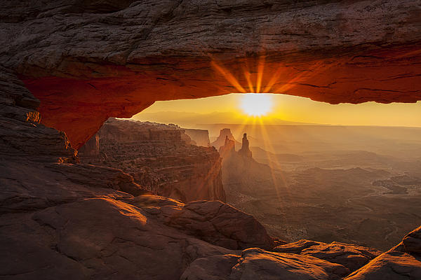 Morning Rays Print by Andrew Soundarajan