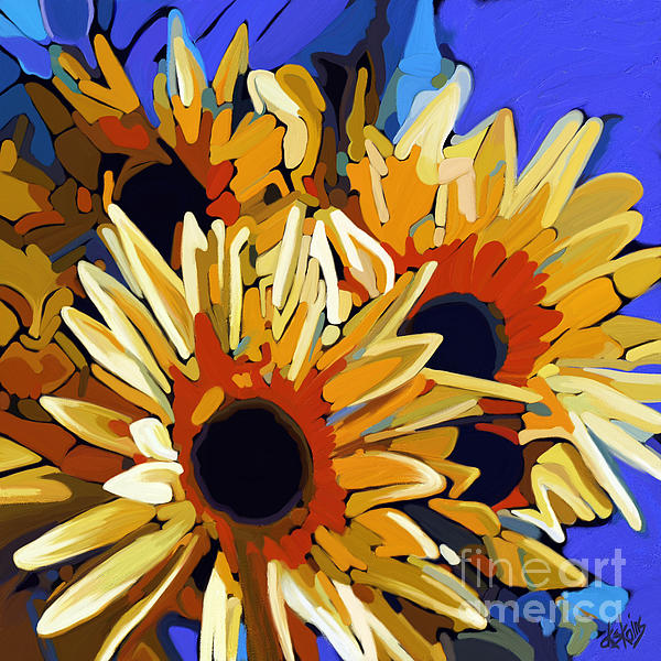 Morning Sunshine Print by Dorinda K Skains