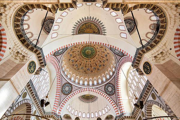 Mosque Print by Rob Van Esch
