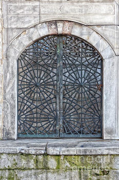 Mosque Window Print by Antony McAulay