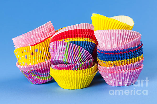 Muffin Cups Print by Elena Elisseeva