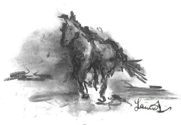 My Stallion Print by Laurie D Lundquist