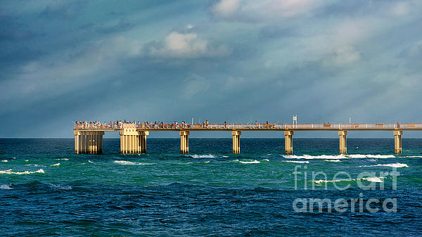 Newport fishing pier by dmitry chernomazov for Newport pier fishing