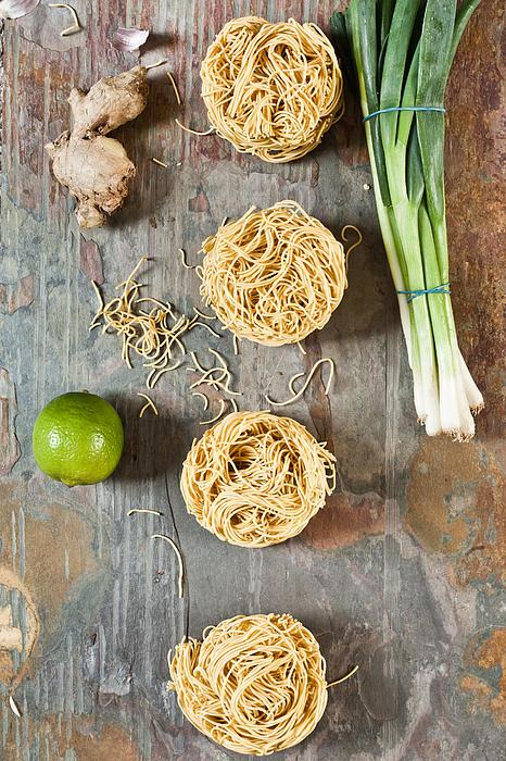 Noodles Print by Tom Gowanlock
