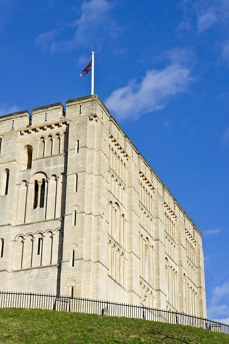 Norwich Castle Print by Tom Gowanlock