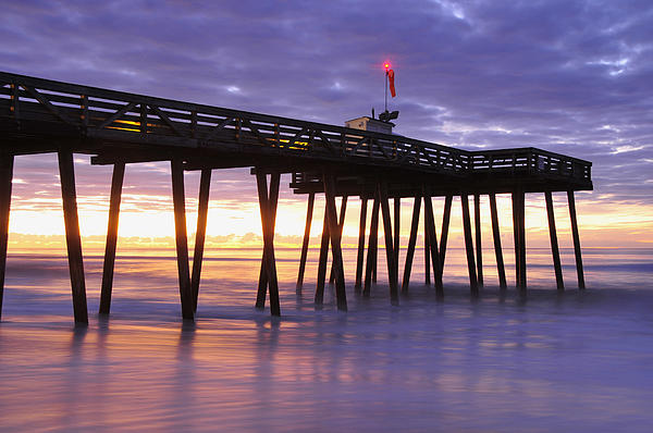 Ocean City Sunrise Print by Dan Myers