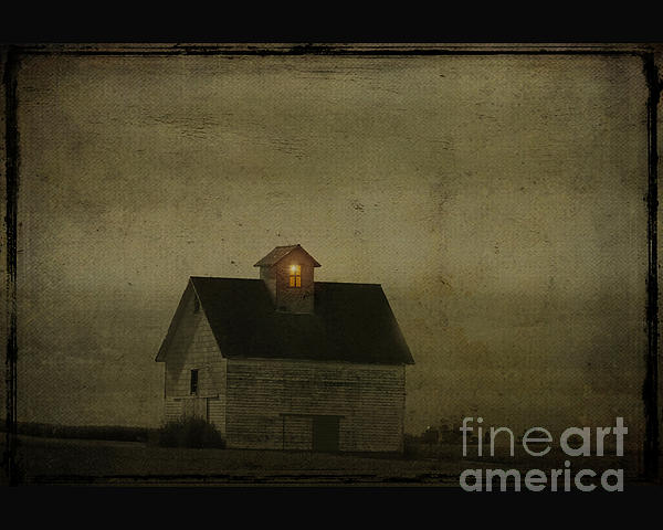Old Barn Print by Jim Wright