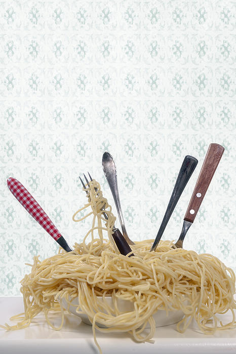 Pasta For Five Print by Joana Kruse