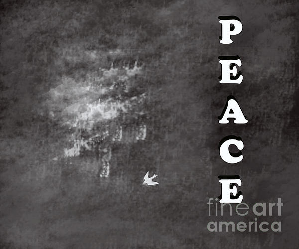 Peace Print by Trilby Cole
