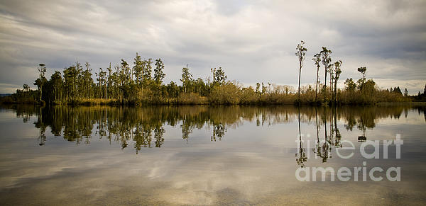 Perfect Lake Print by Tim Hester