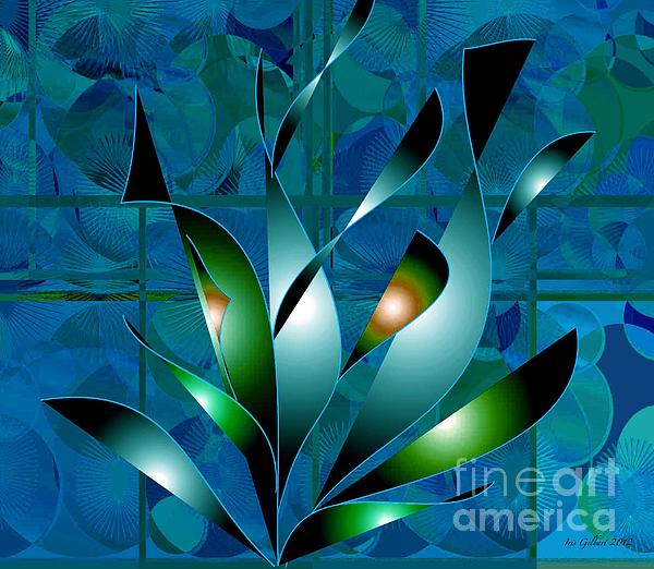 Planted Beauty Print by Iris Gelbart