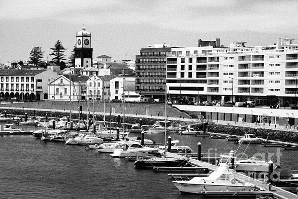Ponta Delgada - Azores Print by Gaspar Avila