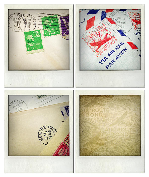 Postal Still Life Print by Les Cunliffe