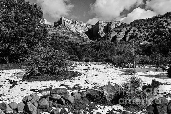 Red Rock Secret Mountain Wilderness Sedona Arizona Print by  Bob and Nadine Johnston