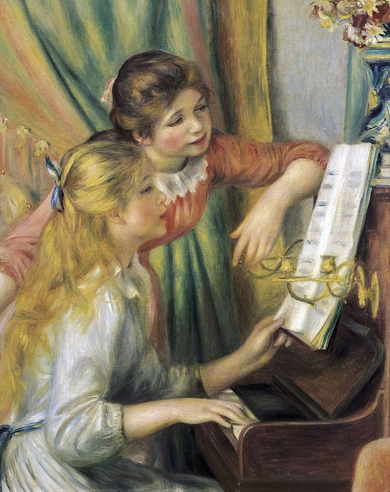 Renoir, Pierre-auguste 1841-1919. Two Print by Everett