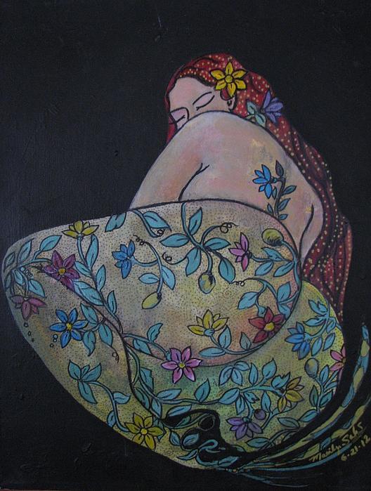 Retreat Print by Marilyn  Sahs