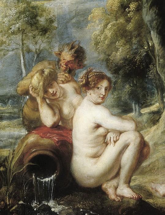 Rubens, Peter Paul 1577-1640. Nymphs Print by Everett