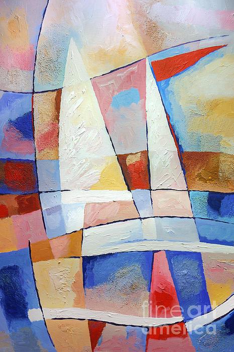 Sailing Joy Print by Lutz Baar