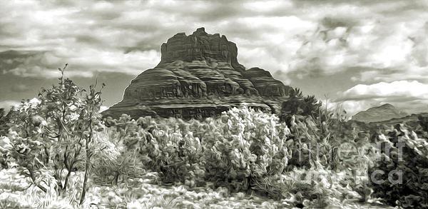 Sedona Arizona Bell Rock Print by Gregory Dyer