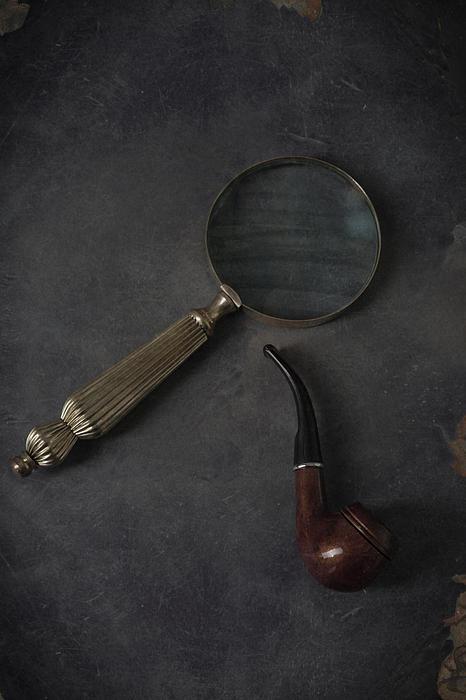 Sherlock Holmes Print by Joana Kruse