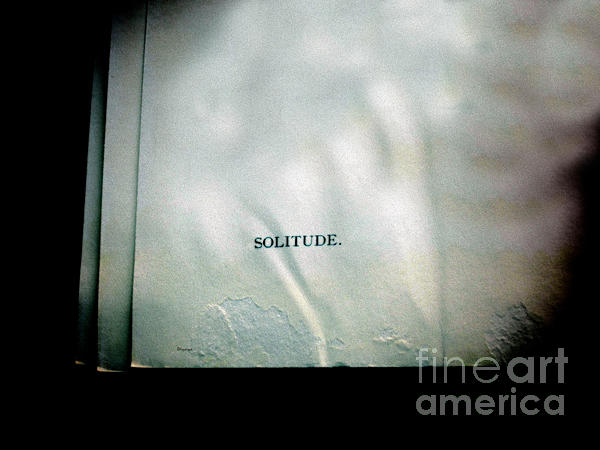 Solitude.  Print by Steven  Digman