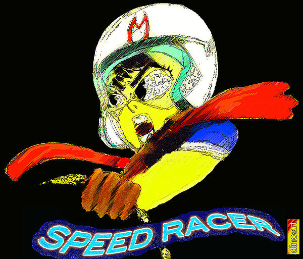 Speed Racer Print by Jazzboy