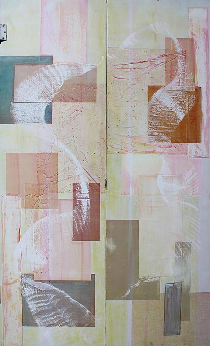 Spirit Dance On Double Doors Print by Asha Carolyn Young