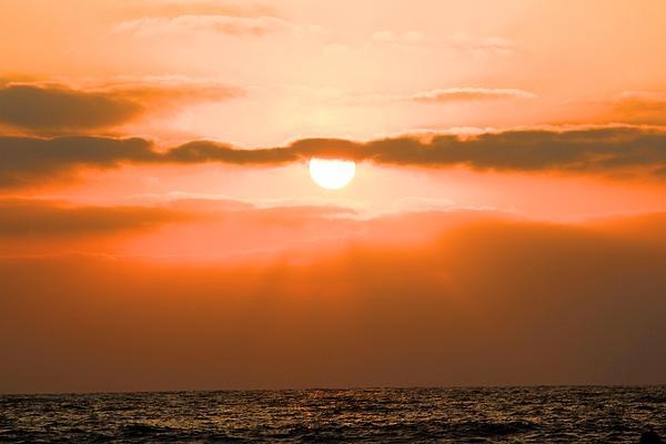 Sunset Print by Gregor  Gatti