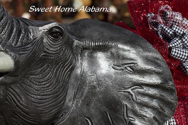Sweet Home Alabama Print by Kathy Clark