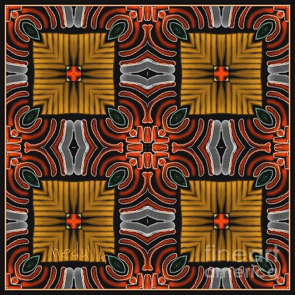 Symmetrica 319 Print by Nedunseralathan R