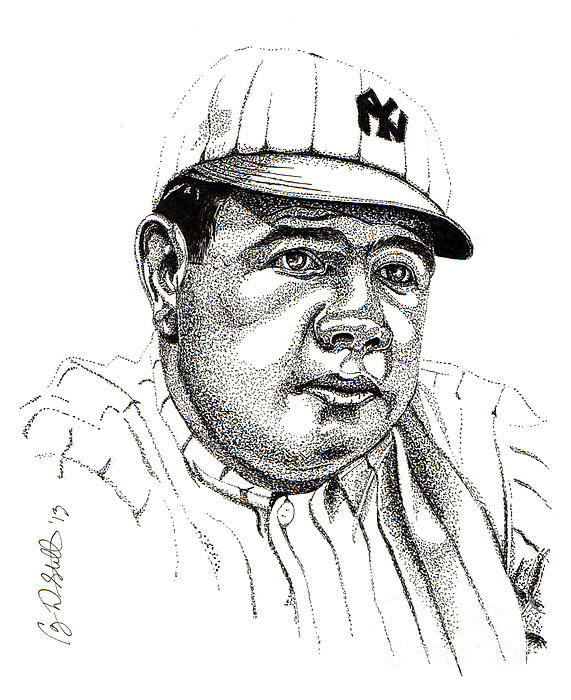The Babe Print by Cory Still