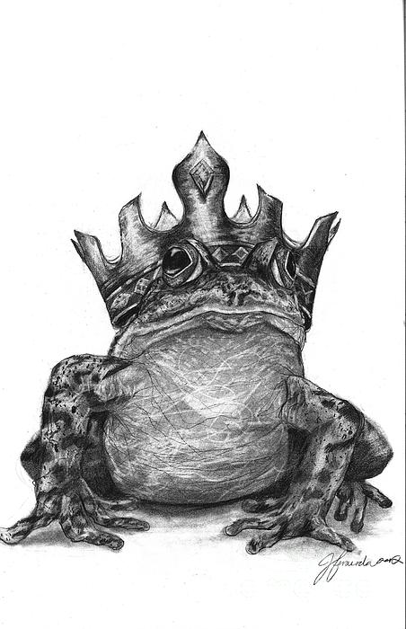 The Frog Prince Print by J Ferwerda