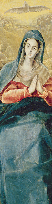 The Immaculate Conception  Print by El Greco Domenico Theotocopuli
