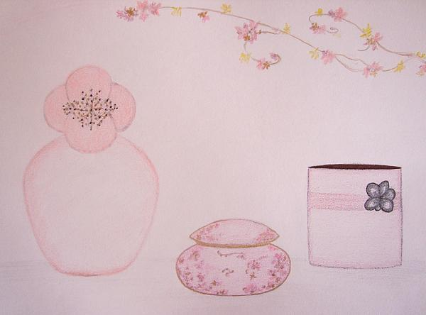 The Scent Of Pink  Print by Christine Corretti