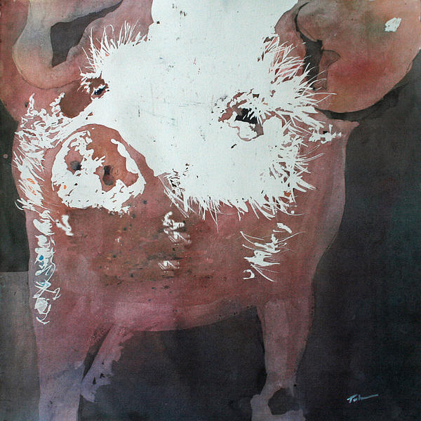 This Little Piggy Print by Tammy Tatum