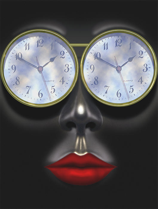 Time In Your Eyes Print by Mike McGlothlen
