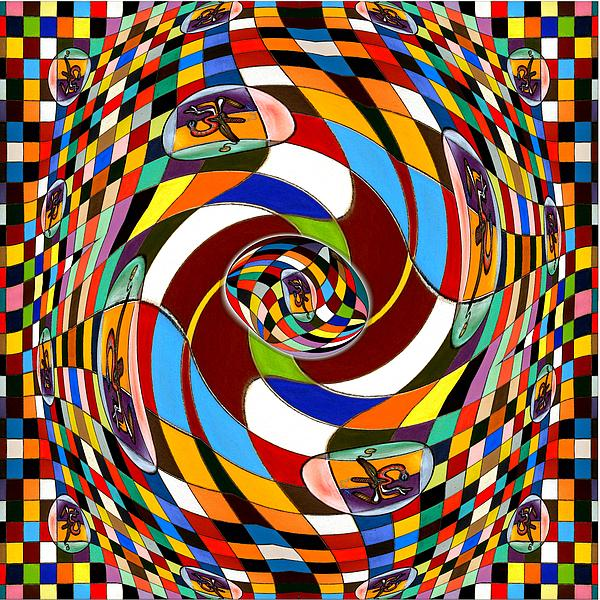 #1 Twisted Combination Print by George Curington