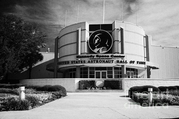 united states astronaut hall of fame Kennedy Space Center Florida USA Print by Joe Fox