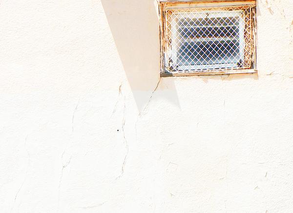 Urban Window 2 Print by Lenore Senior