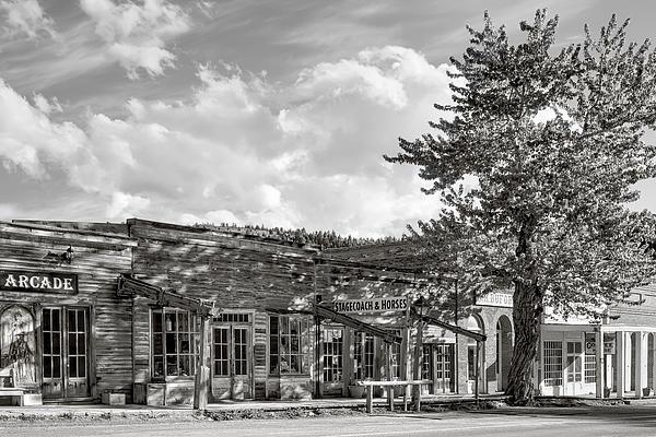Virginia City Montana Ghost Town Print by Daniel Hagerman