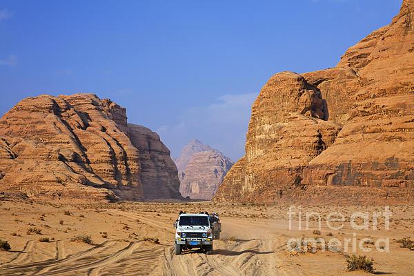 Wadi Rum In Jordan Print by Robert Preston