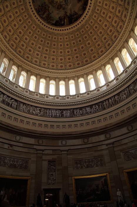 Washington Dc - Us Capitol - 011310 Print by DC Photographer