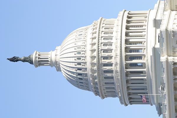 Washington Dc - Us Capitol - 01139 Print by DC Photographer