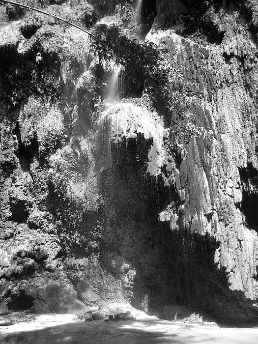 Water Falls Print by Duane Blubaugh