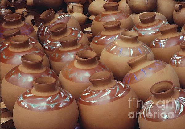 Water Pots Print by Sue Sill