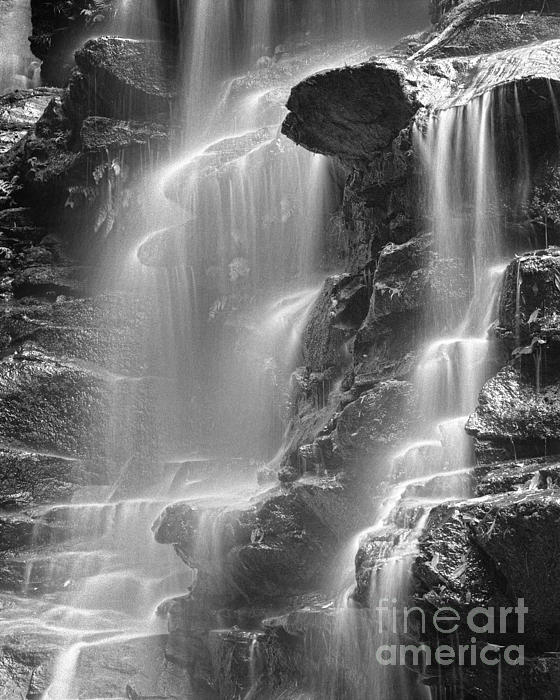 Waterfall 05 Print by Colin and Linda McKie