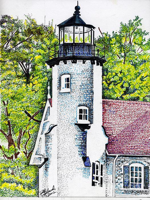 White River Station Print by Bill Richards