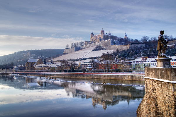 Wuerzburg Germany  City pictures : Wuerzburg Germany Print by Mark Brooks