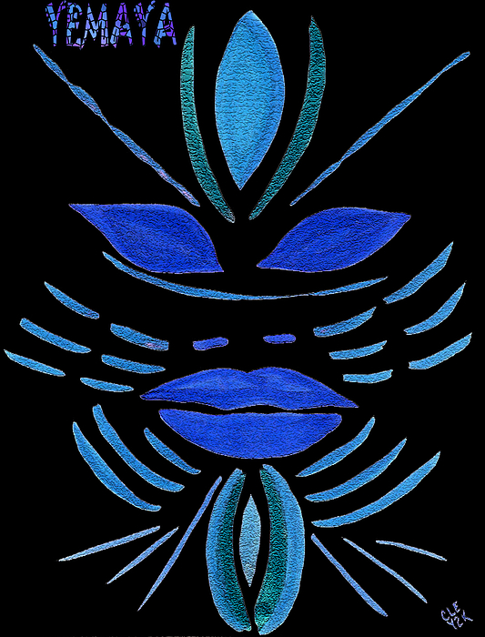 Yemaya Print by Cleaster Cotton
